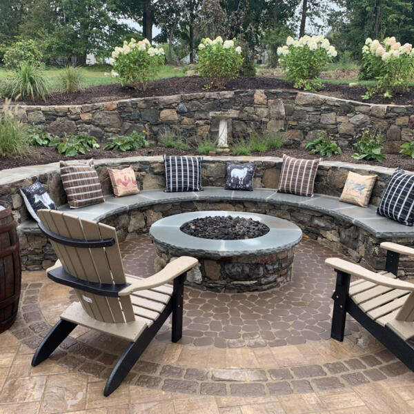 Outdoor Fire Pits And Fireplaces With Green Meadows Lanscaping Nj